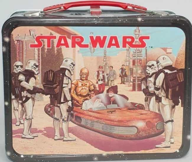 Star Wars is listed (or ranked) 2 on the list 25 Awesome Vintage Movie Lunch Boxes That'll Take You Back