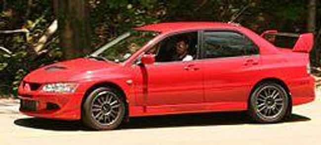 2002 Mitsubishi EVO VIII... is listed (or ranked) 4 on the list The Best All Wheel Drive Cars of All Time, Ranked
