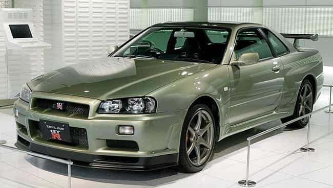 1999-2002 Nissan Skyline R34 is listed (or ranked) 1 on the list The Best All Wheel Drive Cars of All Time, Ranked