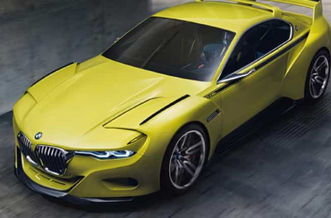 2015 3.0 CSL Hommage is listed (or ranked) 1 on the list Best Futuristic BMW Concept Cars We Wish Were Made