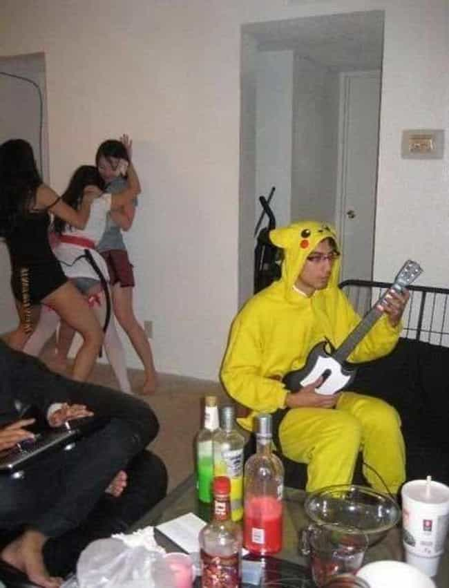 A Man with Priorities is listed (or ranked) 3 on the list The Weirdest Photos of Pokemon Superfans