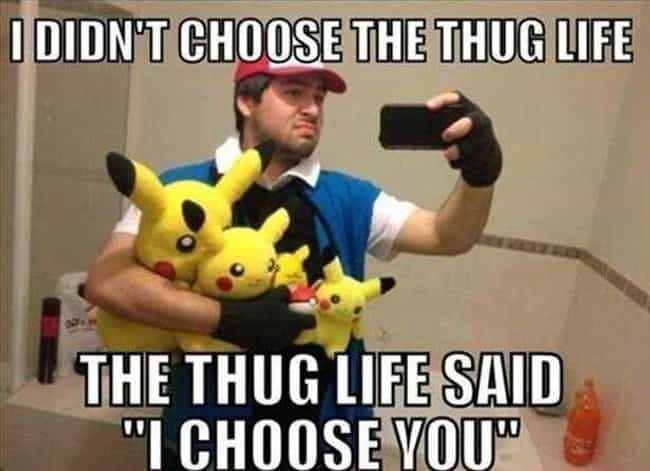The Chosen One is listed (or ranked) 4 on the list The Weirdest Photos of Pokemon Superfans