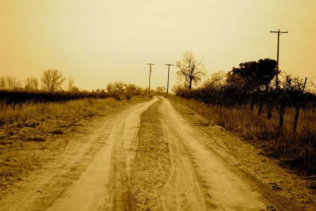 The Ghost Road is listed (or ranked) 3 on the list Unexplained Sightings and Phenomena in Texas