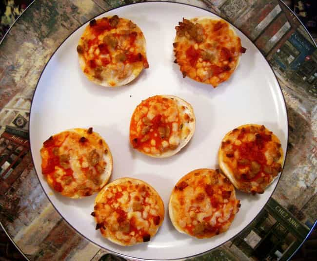 They Were Invented by a ... is listed (or ranked) 4 on the list Delicious Facts You Didn't Know About Bagel Bites
