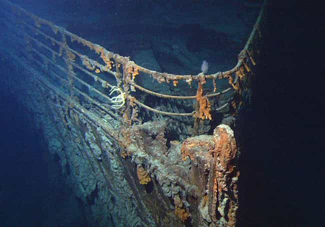 The Ghostly Wreck of the Titan... is listed (or ranked) 4 on the list The Creepiest Places in the Ocean