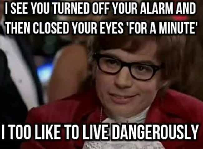 Danger Zone is listed (or ranked) 3 on the list The Funniest Alarm Clock Memes