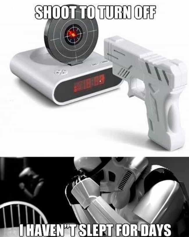 What a Trooper is listed (or ranked) 1 on the list The Funniest Alarm Clock Memes
