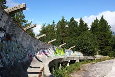 The Bobsled Facility from the  is listed (or ranked) 1 on the list Creepy Ghost Sites from Past Olympics