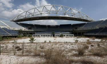 The Beach Volleyball Arena fro is listed (or ranked) 2 on the list Creepy Ghost Sites from Past Olympics