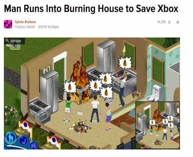 House of Games is listed (or ranked) 2 on the list The Funniest Video Game News Headlines Ever