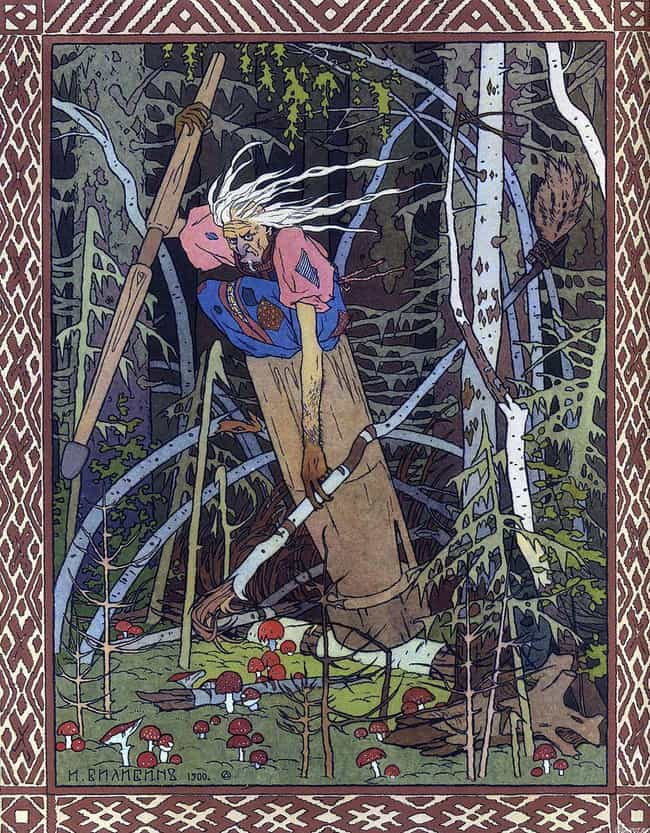 Baba Yaga Lives In A Hut... is listed (or ranked) 6 on the list 16 Super Bizarre Eastern European Myths And Legends To Keep You Up At Night