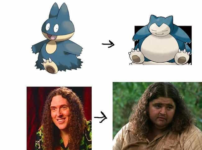 Weird Al Would Have Been Great... is listed (or ranked) 3 on the list 23 Hilarious Celebrity Pokemon Evolutions That Make Too Much Sense
