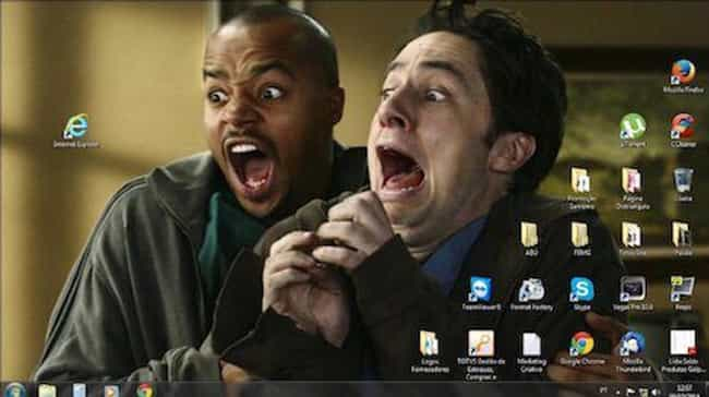 Desktop Scrubs is listed (or ranked) 3 on the list The Funniest Desktop Wallpapers
