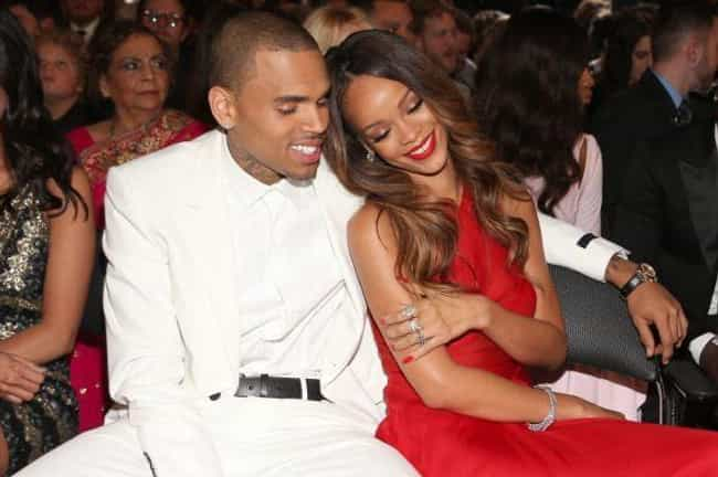 Chris Brown and Rihanna is listed (or ranked) 4 on the list The Most Annoying Celebrity Couples