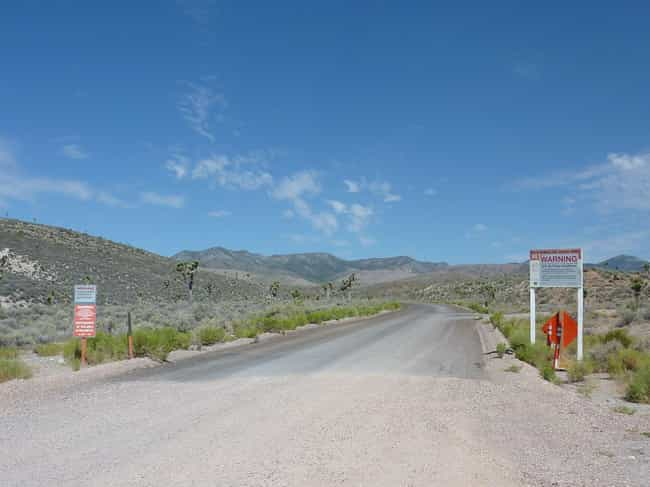 A Humming Sound and a Heavily-... is listed (or ranked) 3 on the list Creepy Stories & Legends About Area 51