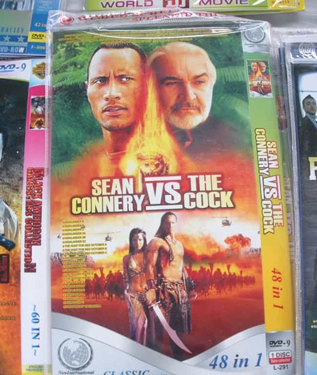The Rock vs The What? is listed (or ranked) 1 on the list Hilarious Bootleg DVDs That Got Lost in Translation