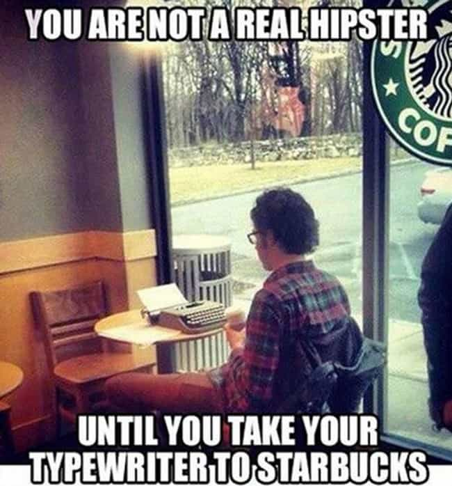 You Know the Type is listed (or ranked) 2 on the list 20 Hilarious 'Meanwhile at Starbucks' Photos