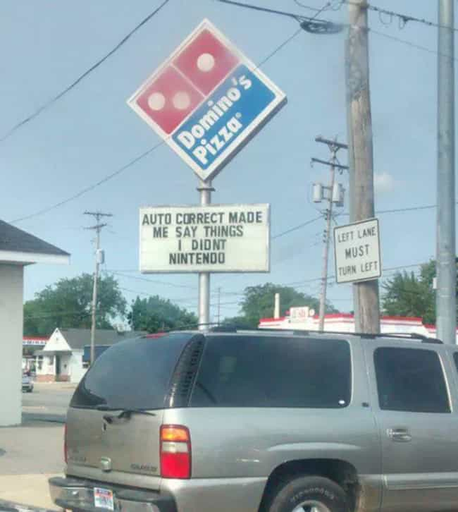 Correctional Facility is listed (or ranked) 4 on the list The Funniest Pizza Signs in All the Land