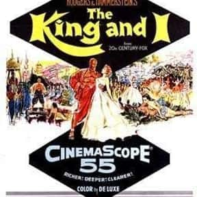 The King and I is listed (or ranked) 7 on the list The Best Oscar-Nominated Movies of the 1950s