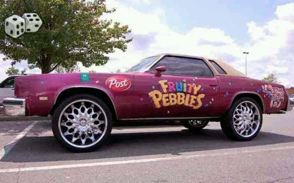 Cars Pimped Out In Honor Of Snack Foods - Pimped out cars
