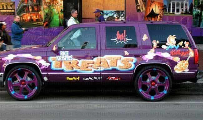 Treats Yo Self! is listed (or ranked) 2 on the list Cars Pimped Out in Honor of Snack Foods