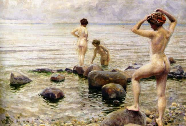 Please Walk Along the Shorelin is listed (or ranked) 11 on the list Strange Rules and Little-Known Etiquette for Nudist Colonies
