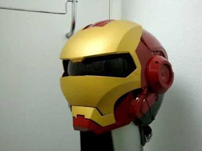 Iron Helmet is listed (or ranked) 3 on the list The Funniest Motorcycle Helmets Ever