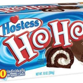 Hostess Ho Hos is listed (or ranked) 3 on the list The Best Hostess Snacks