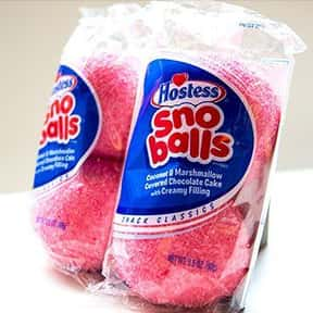 Hostess Sno Balls is listed (or ranked) 17 on the list The Best Hostess Snacks