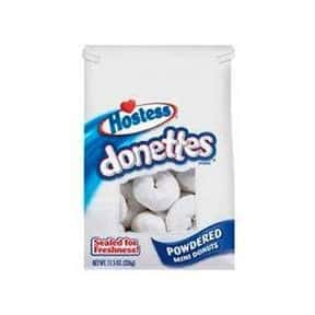 Hostess Powdered Sugar Donette is listed (or ranked) 5 on the list The Best Hostess Snacks