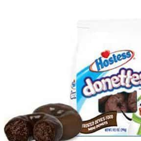 Hostess Chocolate Frosted Done is listed (or ranked) 6 on the list The Best Hostess Snacks