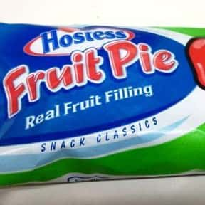 Hostess Apple Fruit Pie is listed (or ranked) 10 on the list The Best Hostess Snacks