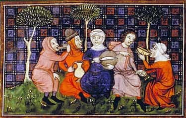 There Was 'Fast Food'  is listed (or ranked) 2 on the list What the Average Diet Was Like in Medieval Times