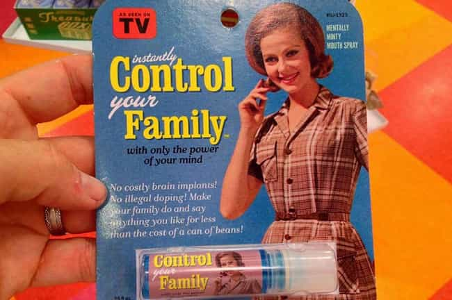 "Mind Control Lip Balm is listed (or ranked) 3 on the list The Weirdest ""As Seen on TV"" Products"