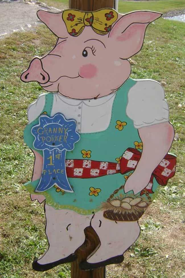 Granny Porker is listed (or ranked) 2 on the list 16 Humiliating Awards You Definitely Won't Ever Want to Win