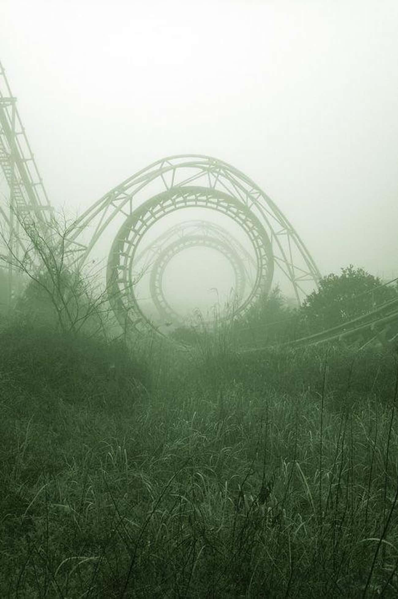That Roller Coaster Was Probab is listed (or ranked) 4 on the list Creepy Pictures of Abandoned Amusement Parks
