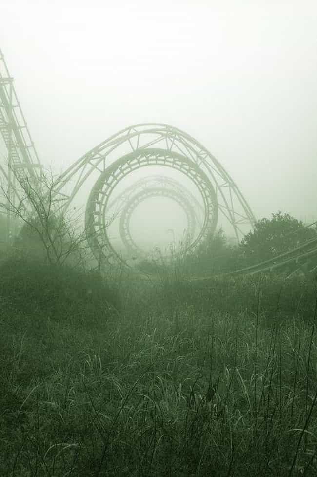That Roller Coaster Was ... is listed (or ranked) 4 on the list Creepy Pictures of Abandoned Amusement Parks