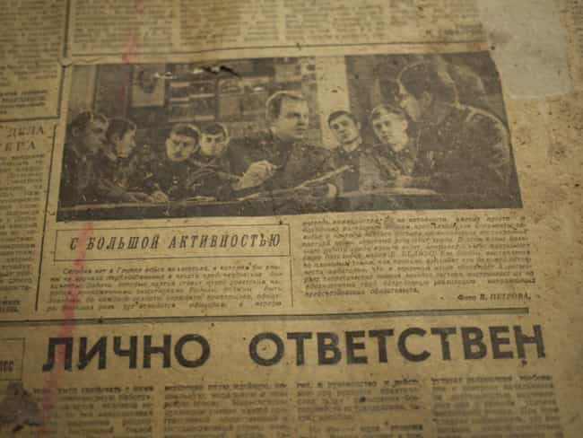 Newspapers Didn't Always R... is listed (or ranked) 3 on the list 14 Things You Didn't Know About Daily Life in the Soviet Union