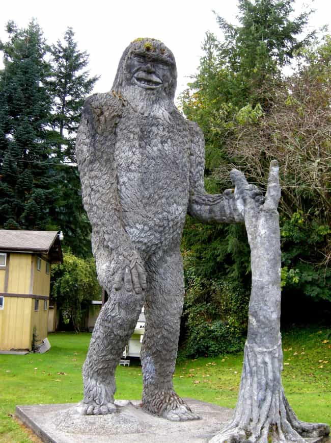 The Fouke Monster is listed (or ranked) 3 on the list These Are All The Bigfoots Around The World