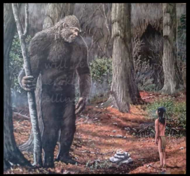 Tsul 'Kalu is listed (or ranked) 1 on the list These Are All The Bigfoots Around The World