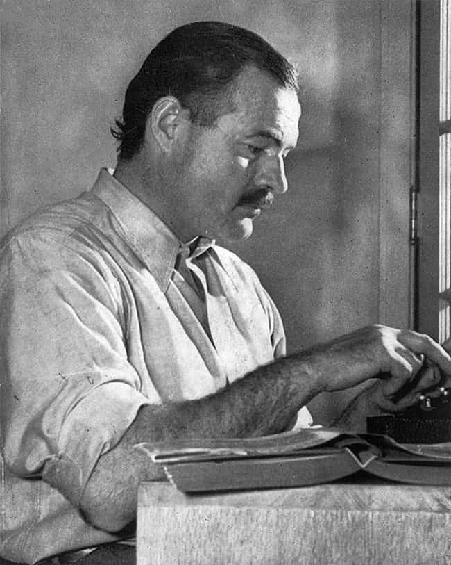 Ernest Hemingway Thought The F... is listed (or ranked) 3 on the list Large-Scale Paranoid Conspiracies That Turned Out to Be True