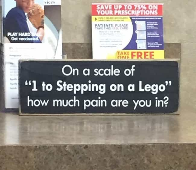 Everything is Awesome is listed (or ranked) 1 on the list Funny Doctor's Office Signs That Prove Laughter Is the Best Medicine