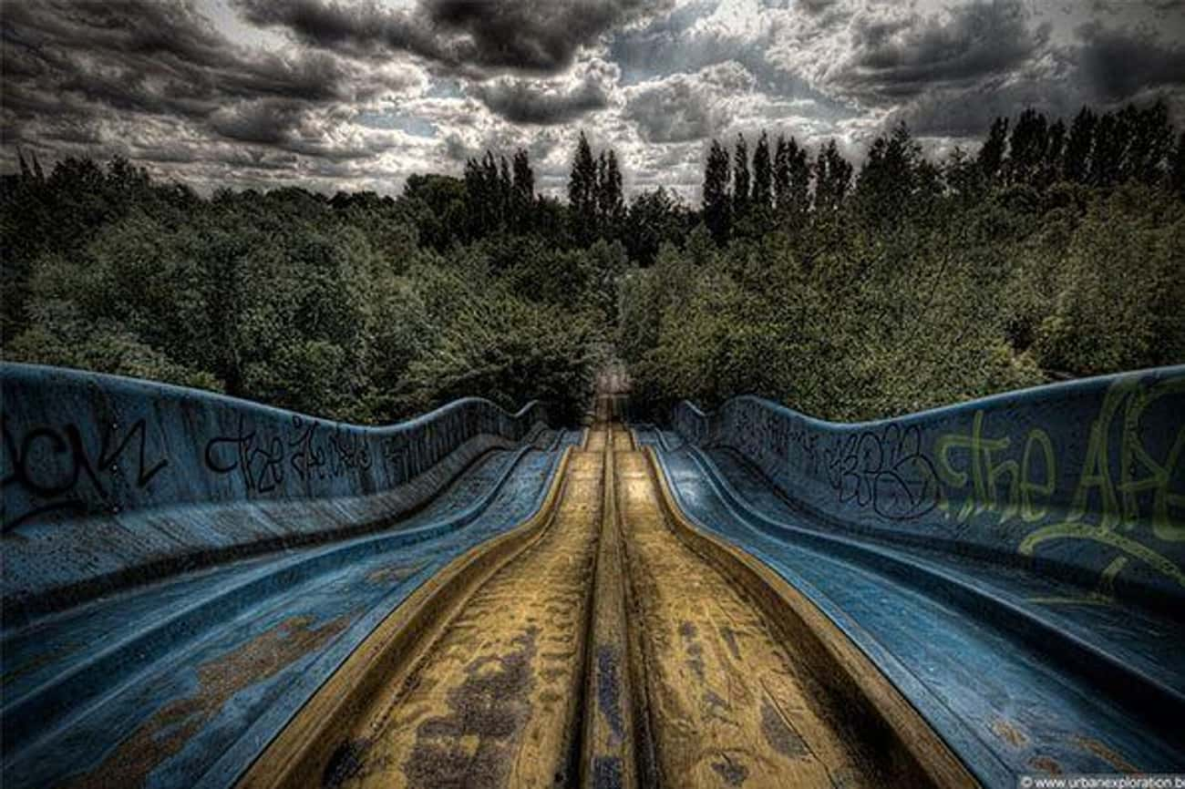 The Creepy Part Is Not Knowing is listed (or ranked) 2 on the list Creepy Pictures of Abandoned Amusement Parks