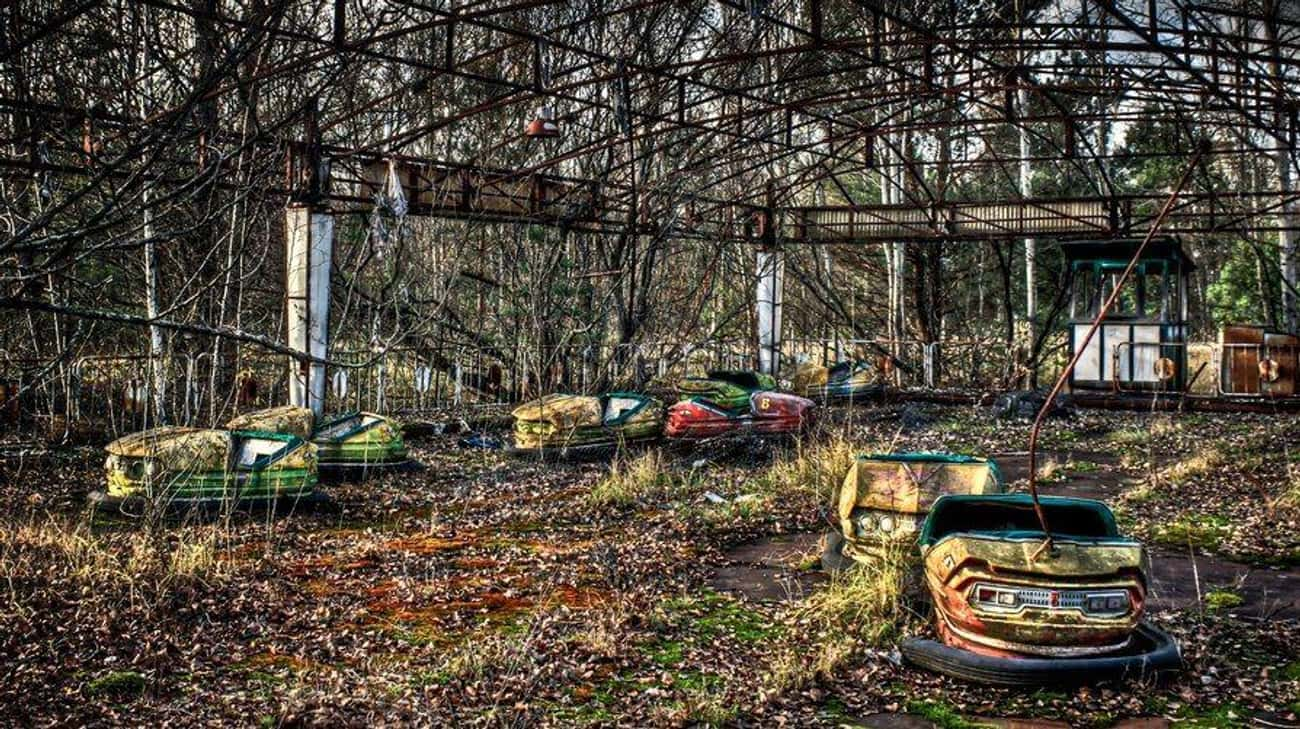 A Causality of the Chernobyl D is listed (or ranked) 3 on the list Creepy Pictures of Abandoned Amusement Parks