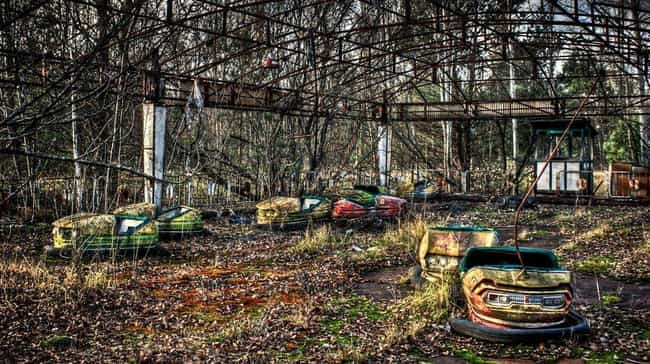 A Causality of the Chern... is listed (or ranked) 3 on the list Creepy Pictures of Abandoned Amusement Parks
