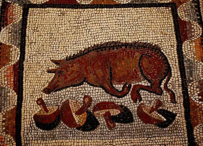 Sow's Womb is listed (or ranked) 3 on the list The Weirdest Foods from Ancient Roman Cuisine