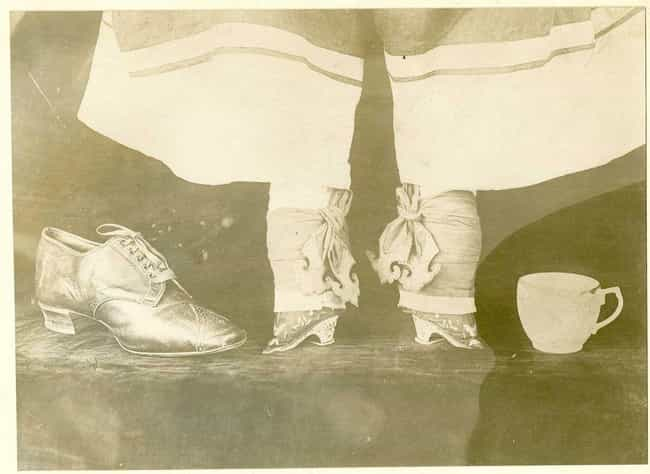 Its Origins Are Largely Unknow... is listed (or ranked) 3 on the list Facts About The History Of Chinese Foot Binding