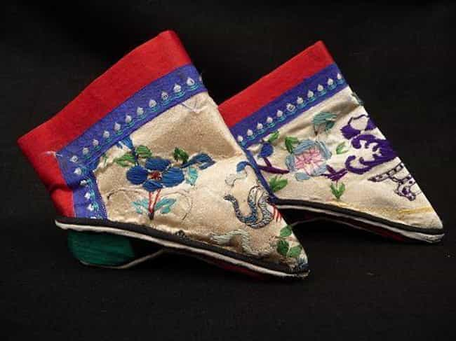 The Boots Illustrated The Shap... is listed (or ranked) 4 on the list Facts About The History Of Chinese Foot Binding