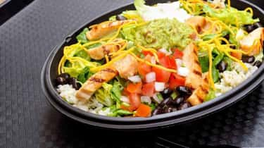 Cantina Power Bowl is listed (or ranked) 1 on the list 7 Taco Bell Recipes You Can Easily Make at Home