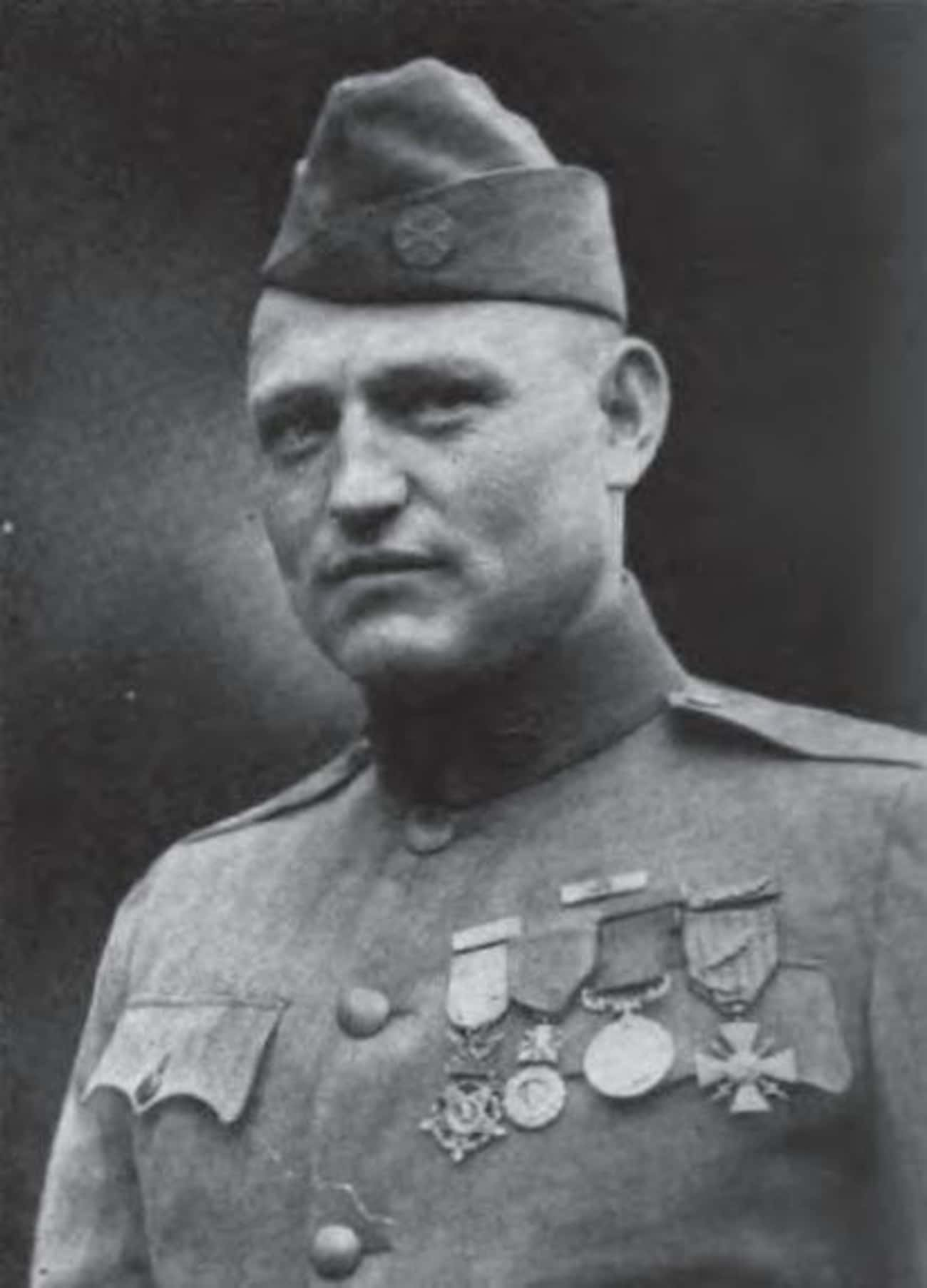 Jake Allex - Singlehandedly Charged an Enemy Machine Gun Position with a Rifle